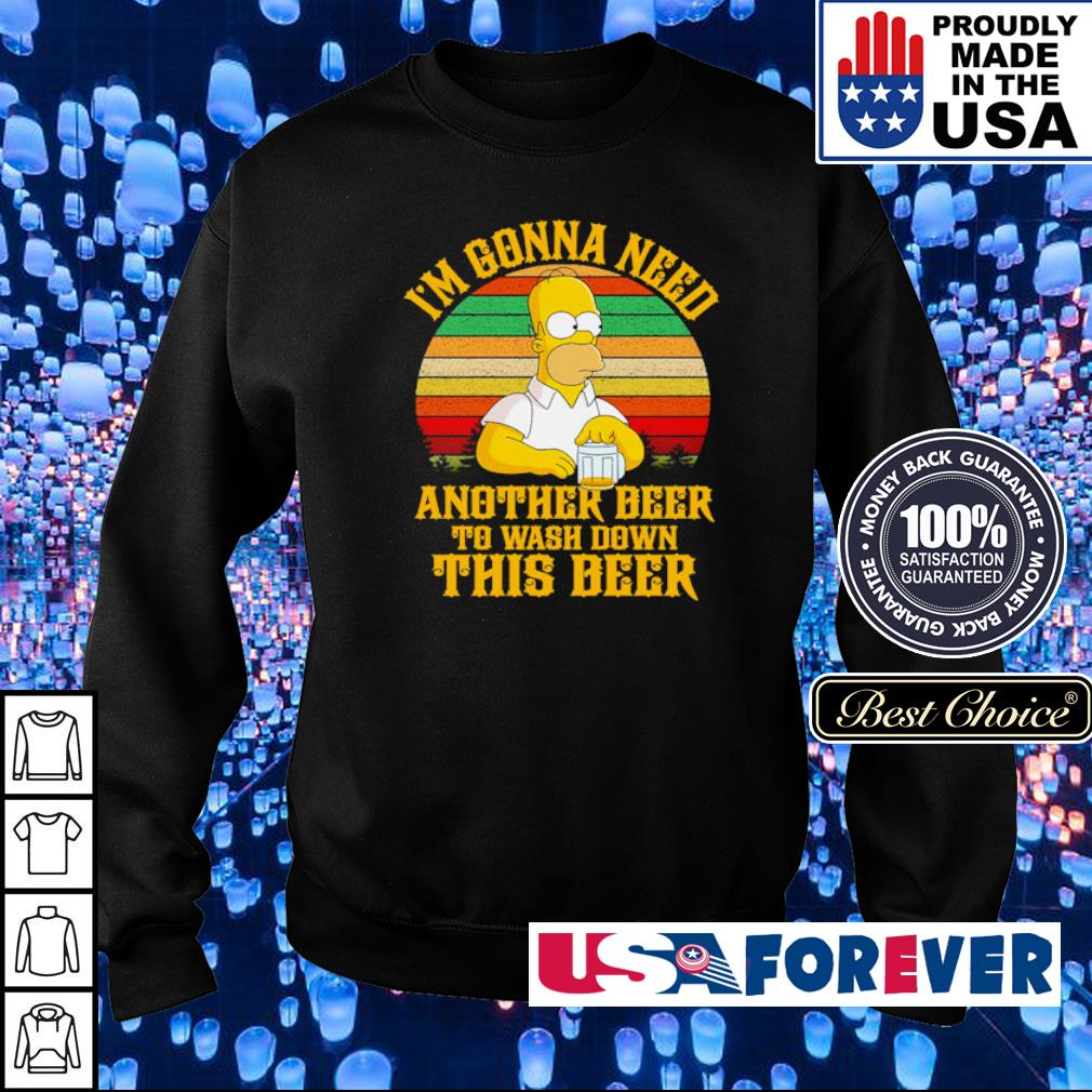 Simson I'm gonna need another beer to wash down this beer vintage s sweater