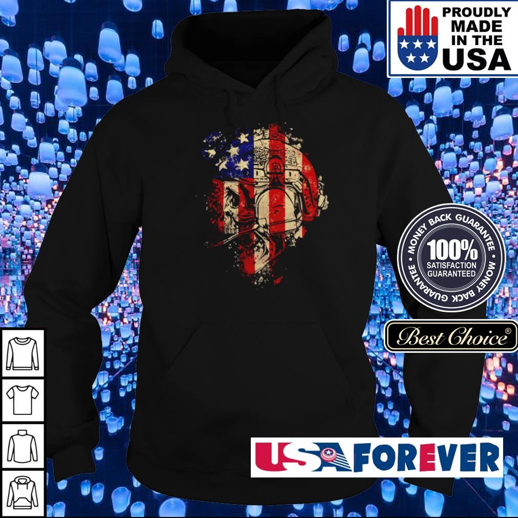 Skull Patriot The Operator s hoodie