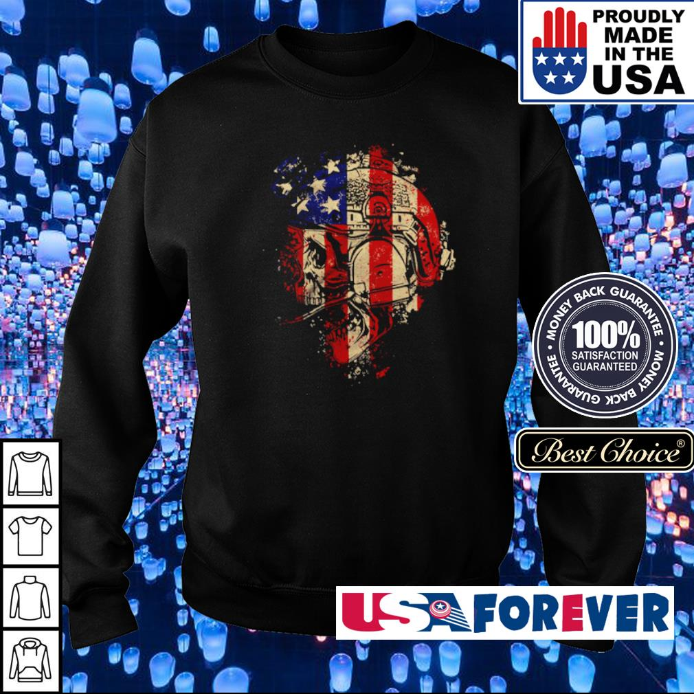 Skull Patriot The Operator s sweater