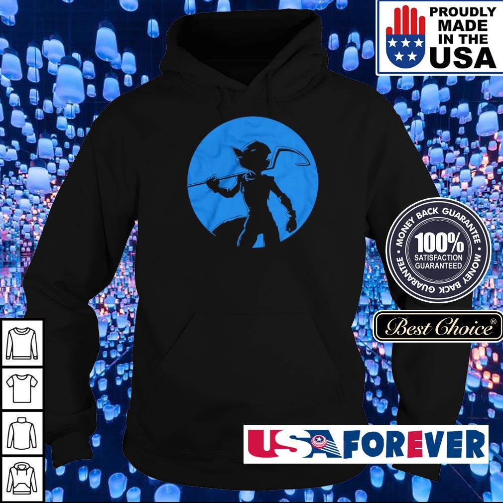 Sly Cooper silhouette Elusive Bandit s hoodie