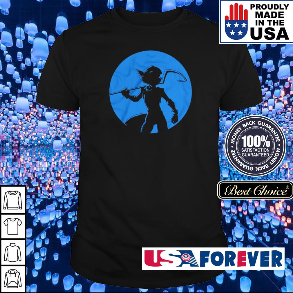Sly Cooper silhouette Elusive Bandit shirt