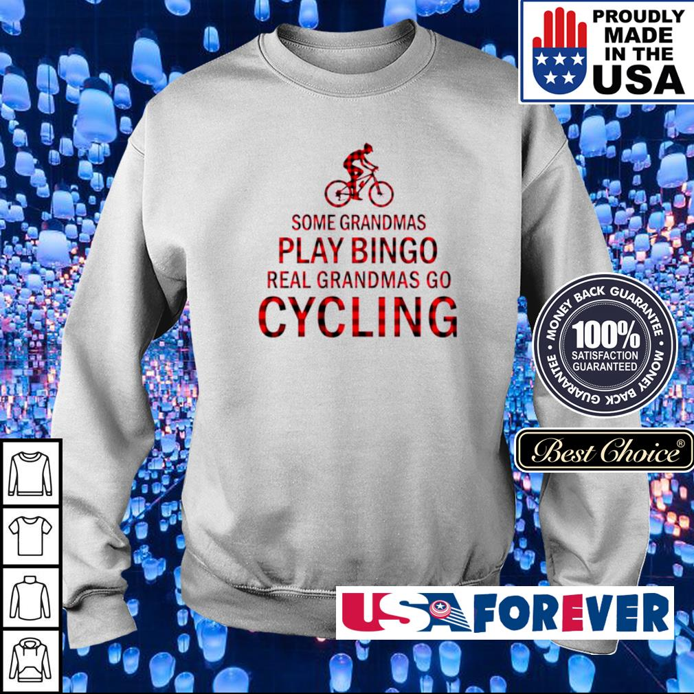 Some grandmas play bingo real grandmas go cycling s sweater