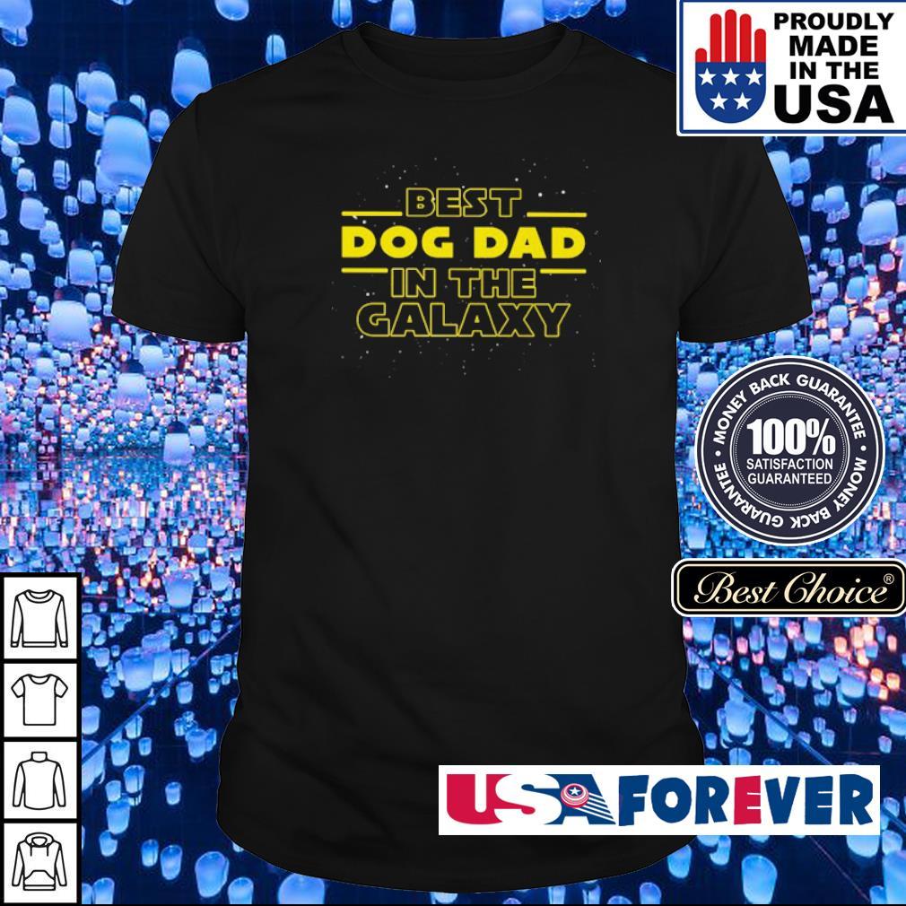 Star Wars best dog dad in the galaxy shirt