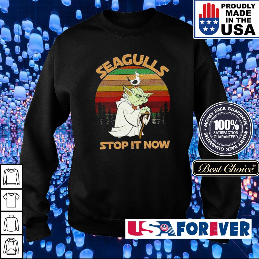 Star Wars Yoda Seagulls stop it now s sweater