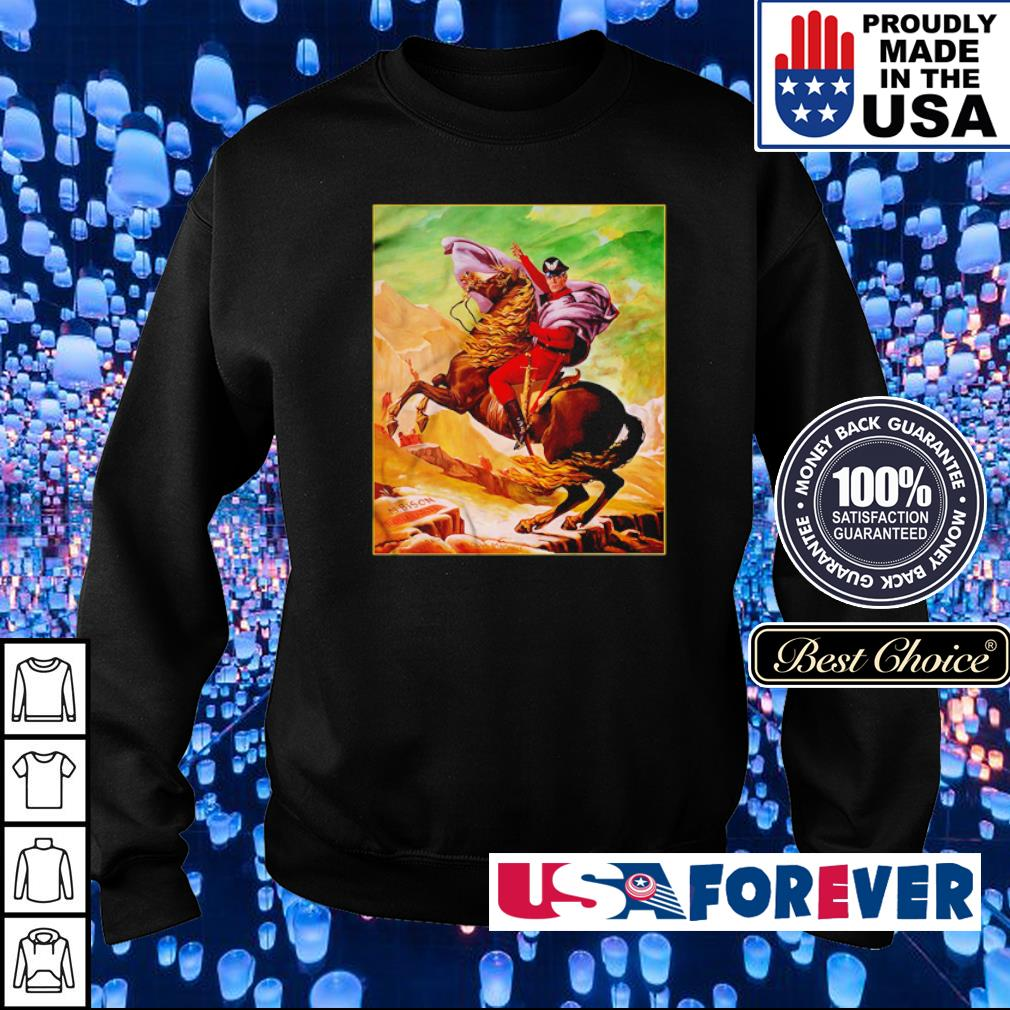 Street Fighter Bison Bonaparte Madman or God s sweater