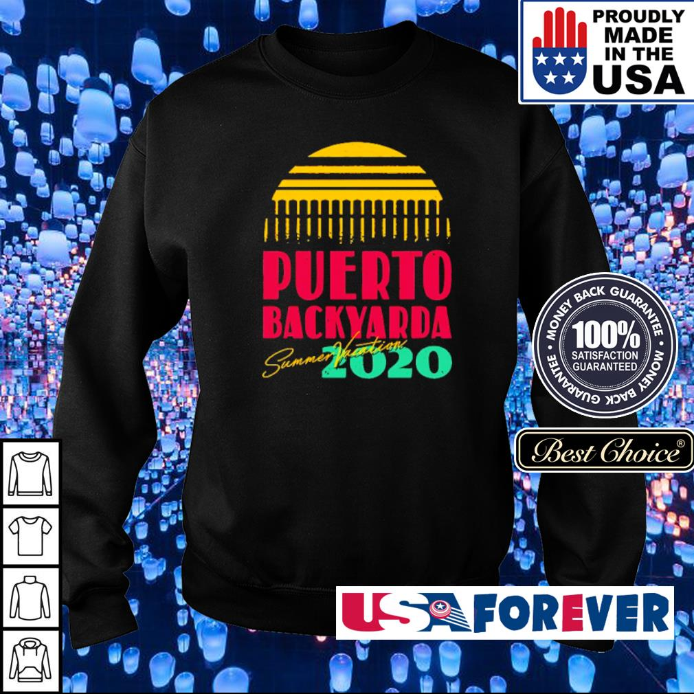 Summer Vacation Puerto backyarda 2020 s sweater