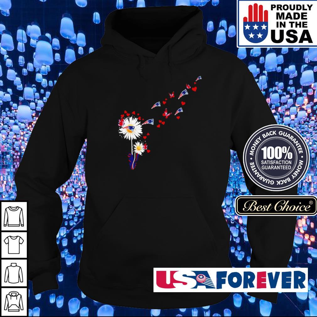 Sunflowers New England Patriots s hoodie