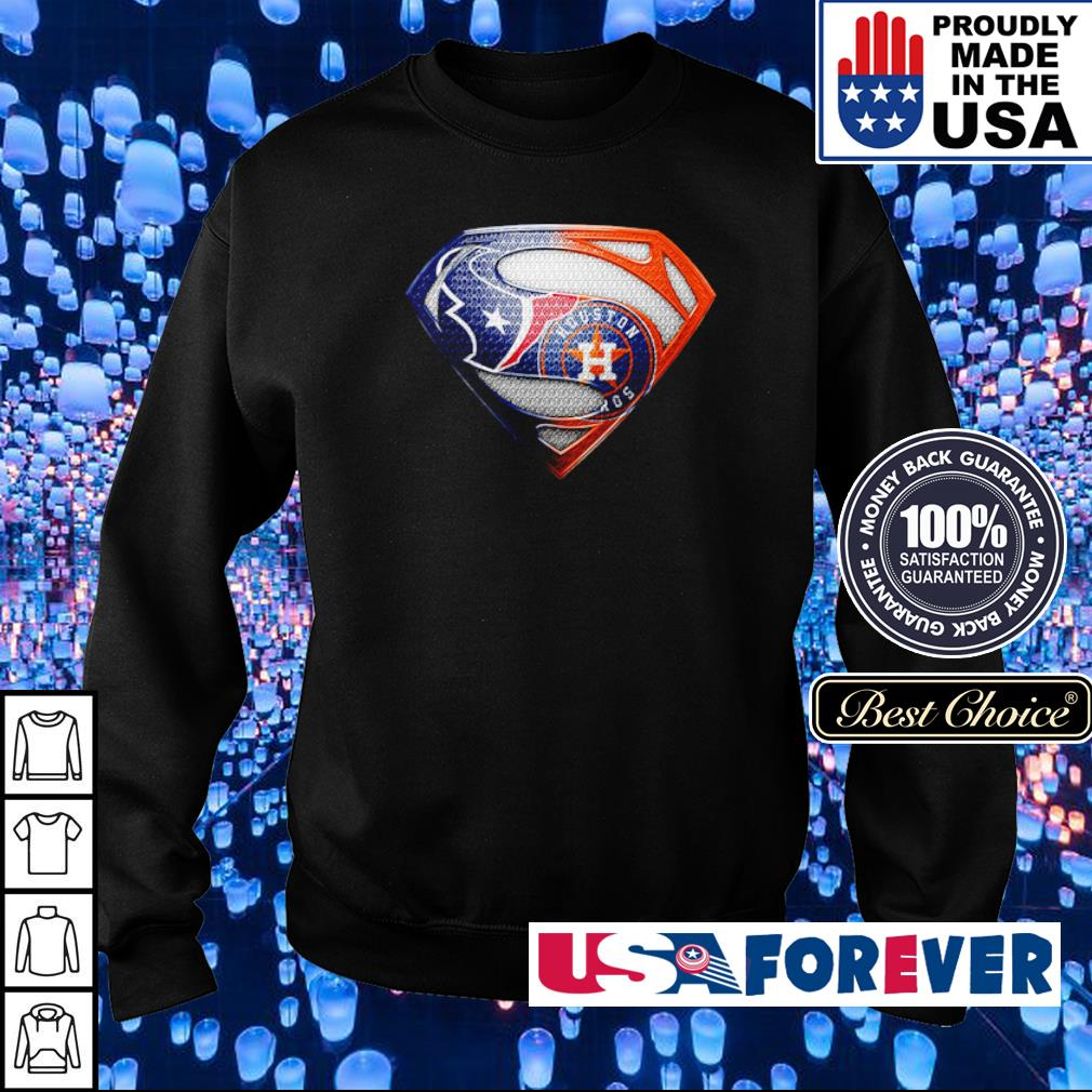 Superman Houston Texas vs Houston Astros s sweater