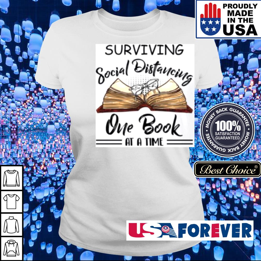 Surviving social Distancing one book at a time s ladies