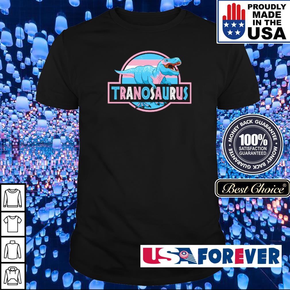 T Rex LGBT Tranosaurus shirt