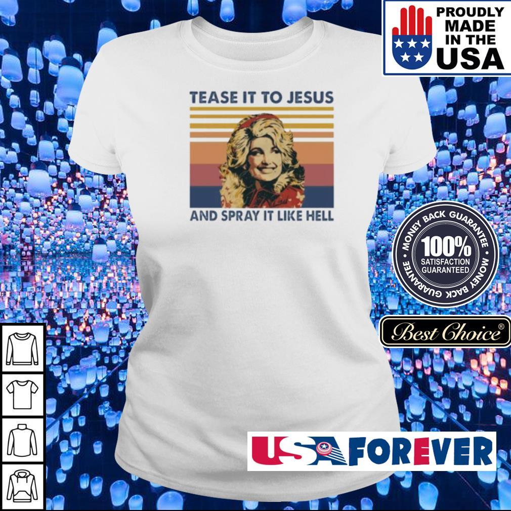 Tease it to Jesus and spray it lke hell vintage s ladies