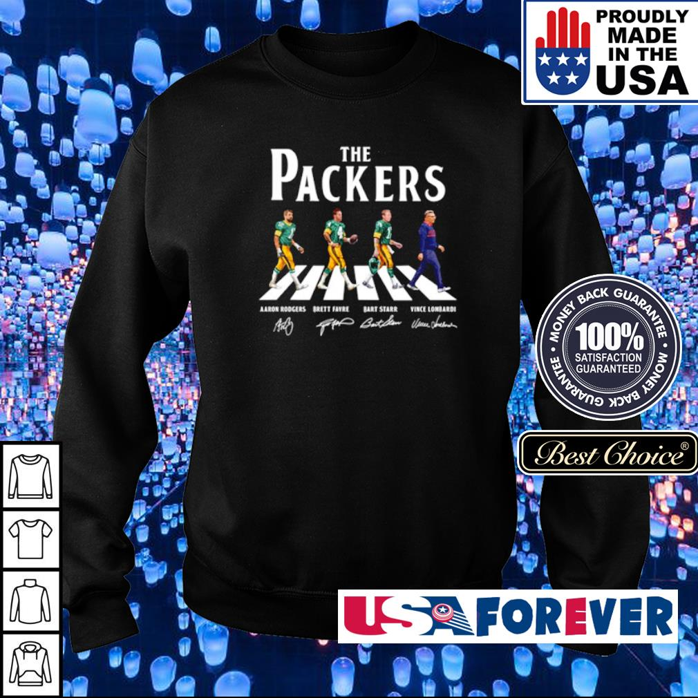 The Green Bay Packers Abbey Road signature s sweater