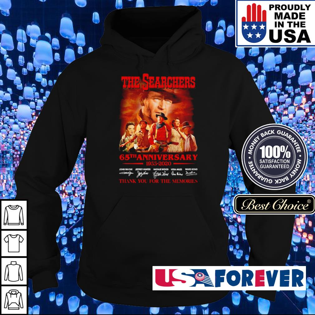 The Searchers 65th anniversary 1955 2020 thank you for the memories s hoodie