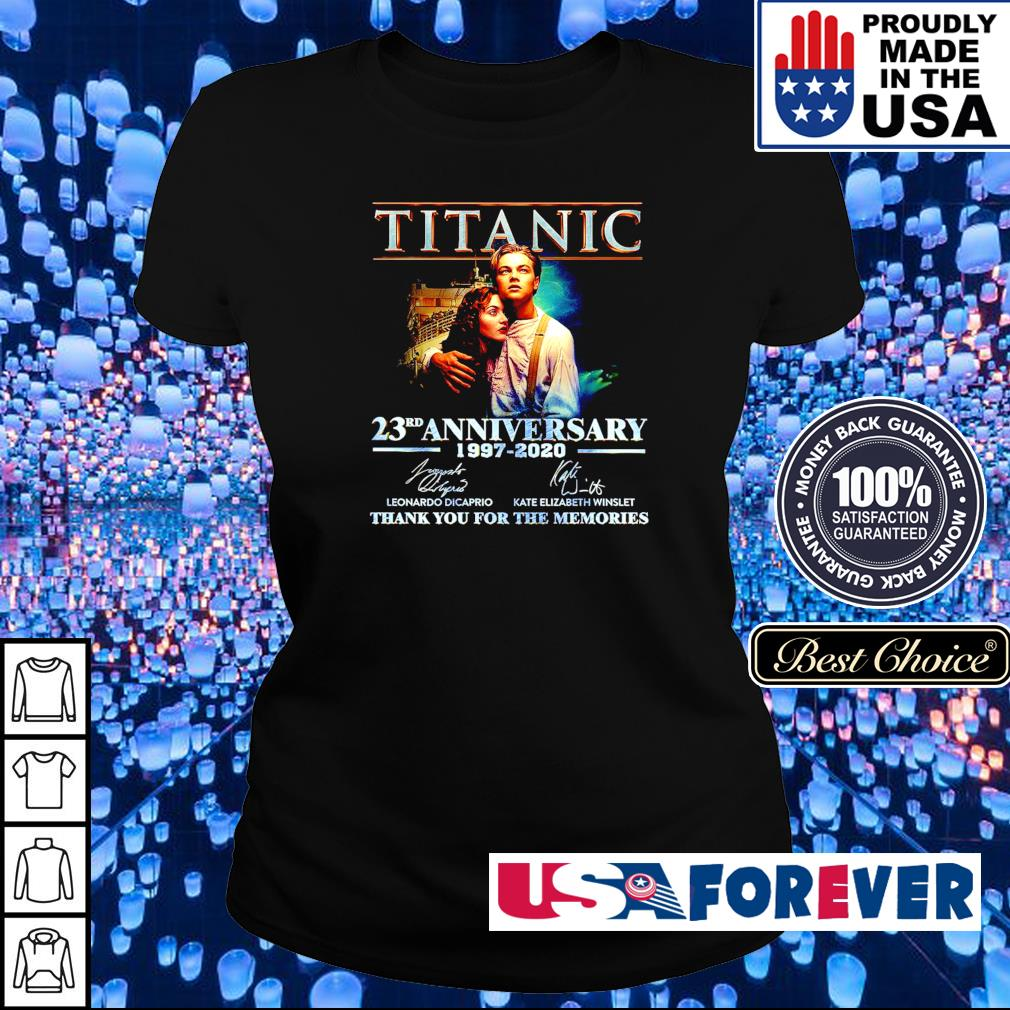 Titanic 23rd anniversary 1997-2020 thank you for the memories s ladies
