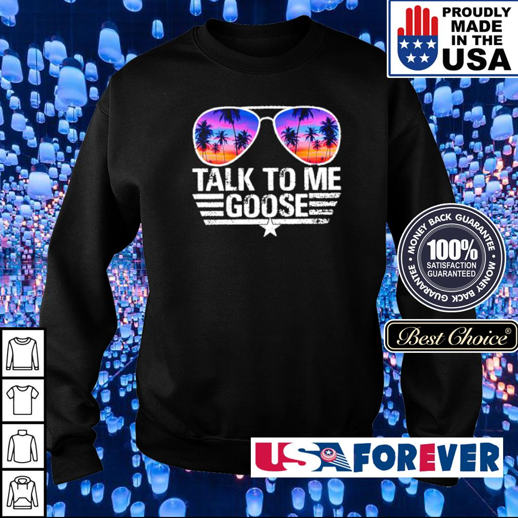 Top Gun talk to me goose s sweater