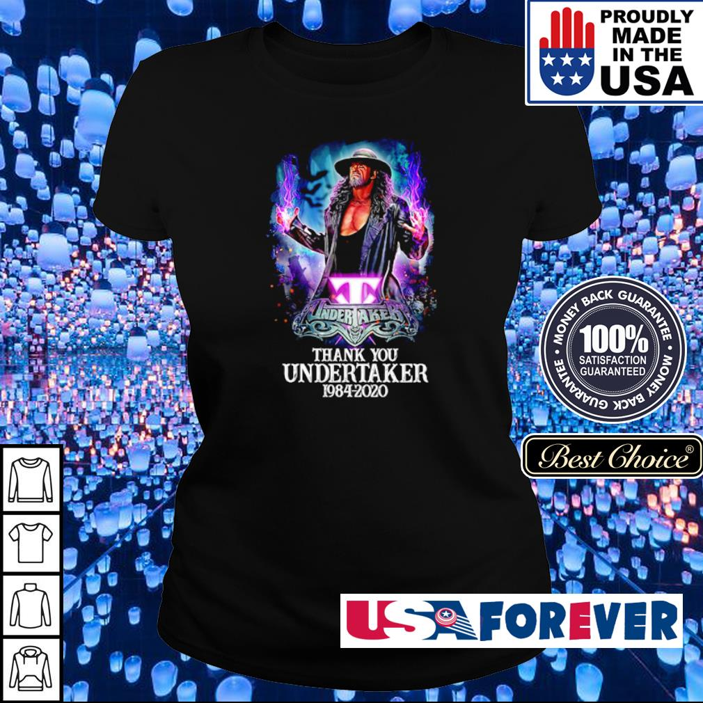 Under Taker 1984 2020 thank you s ladies
