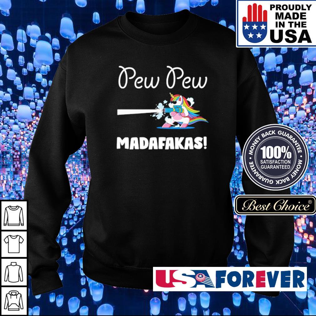 Unicorn pew pew madafakas s sweater