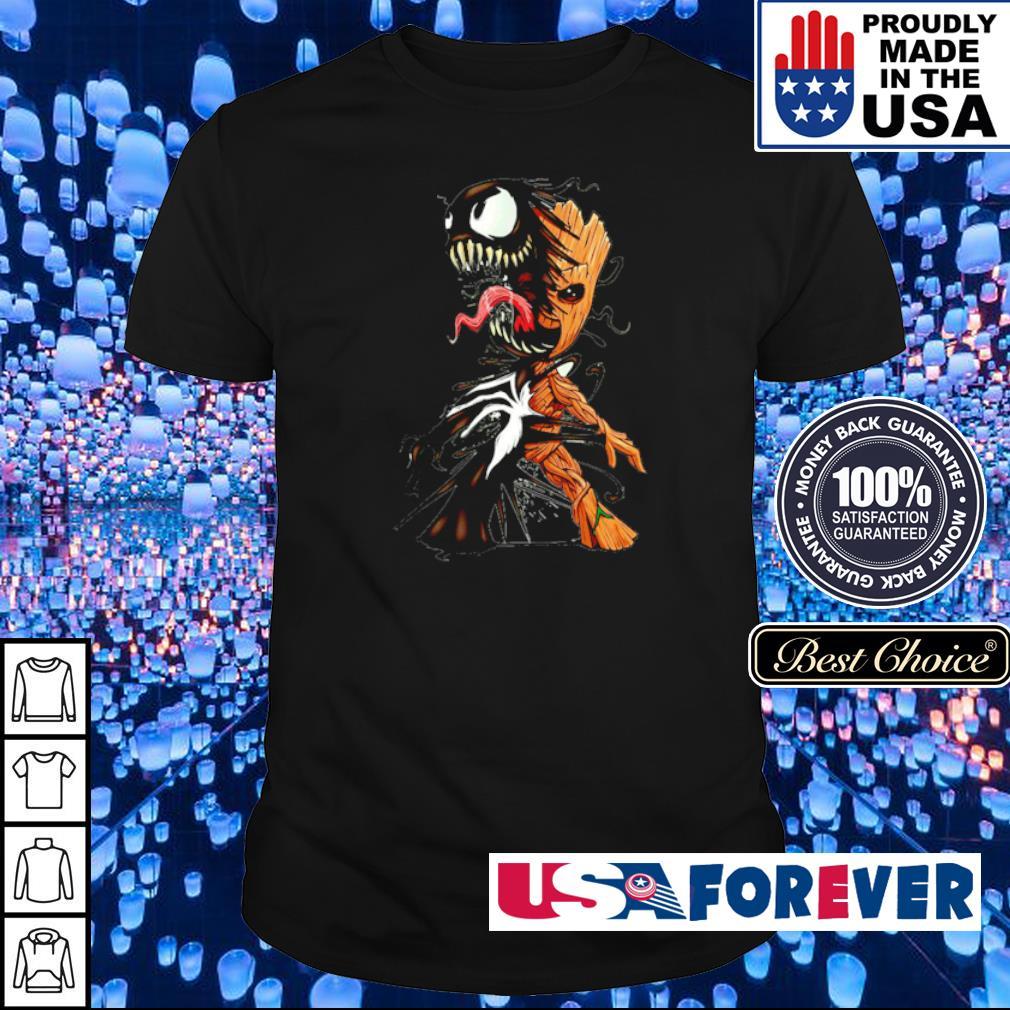 Venom inside Baby Groot shirt
