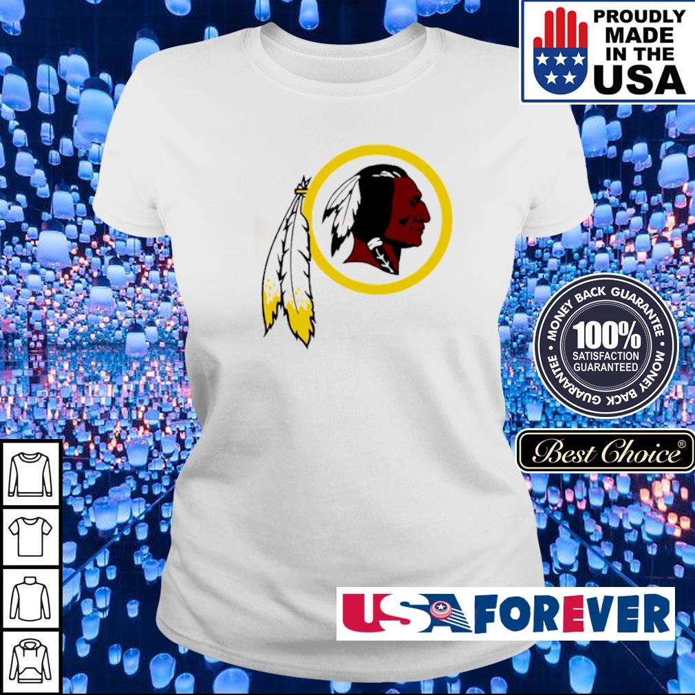 Washington Redskins logo team s ladies