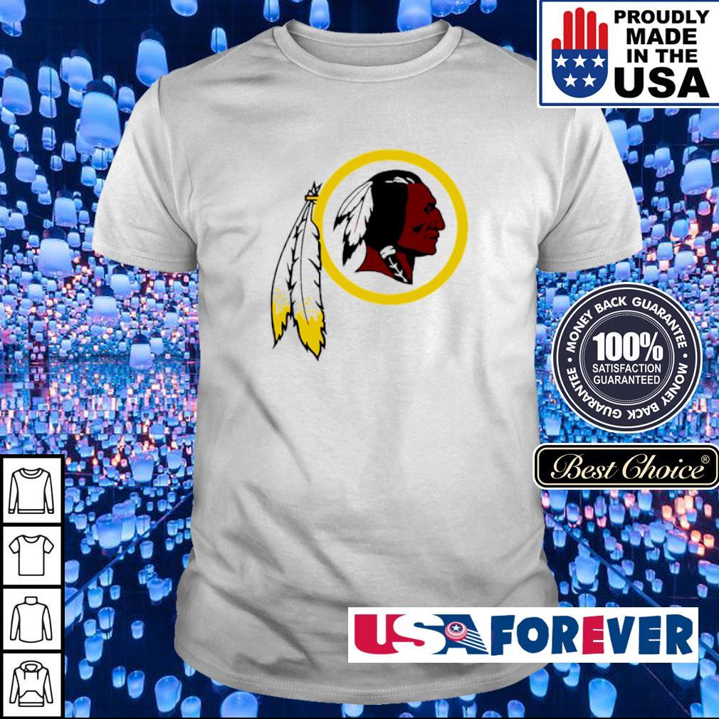 Washington Redskins logo team shirt