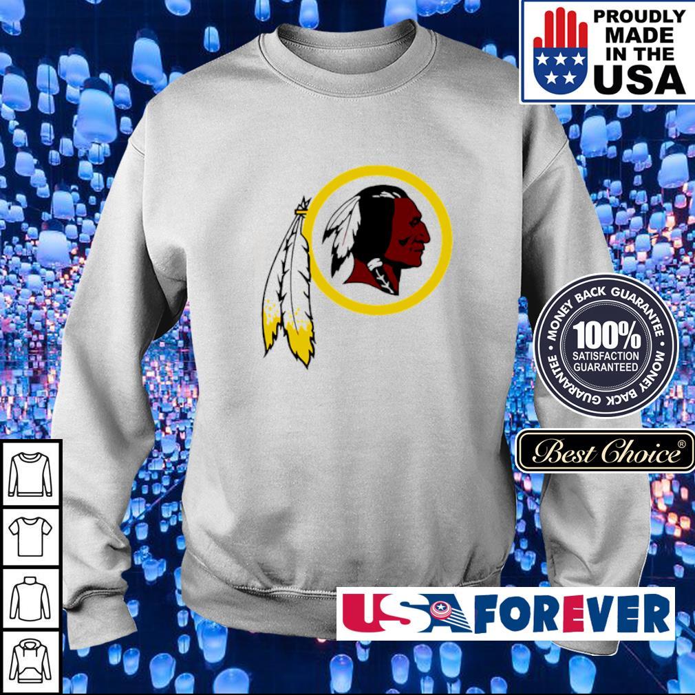 Washington Redskins logo team s sweater