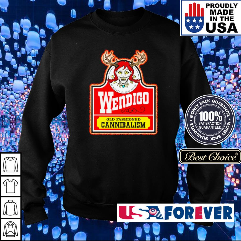 Wendiga old fashioned cannibalism s sweater