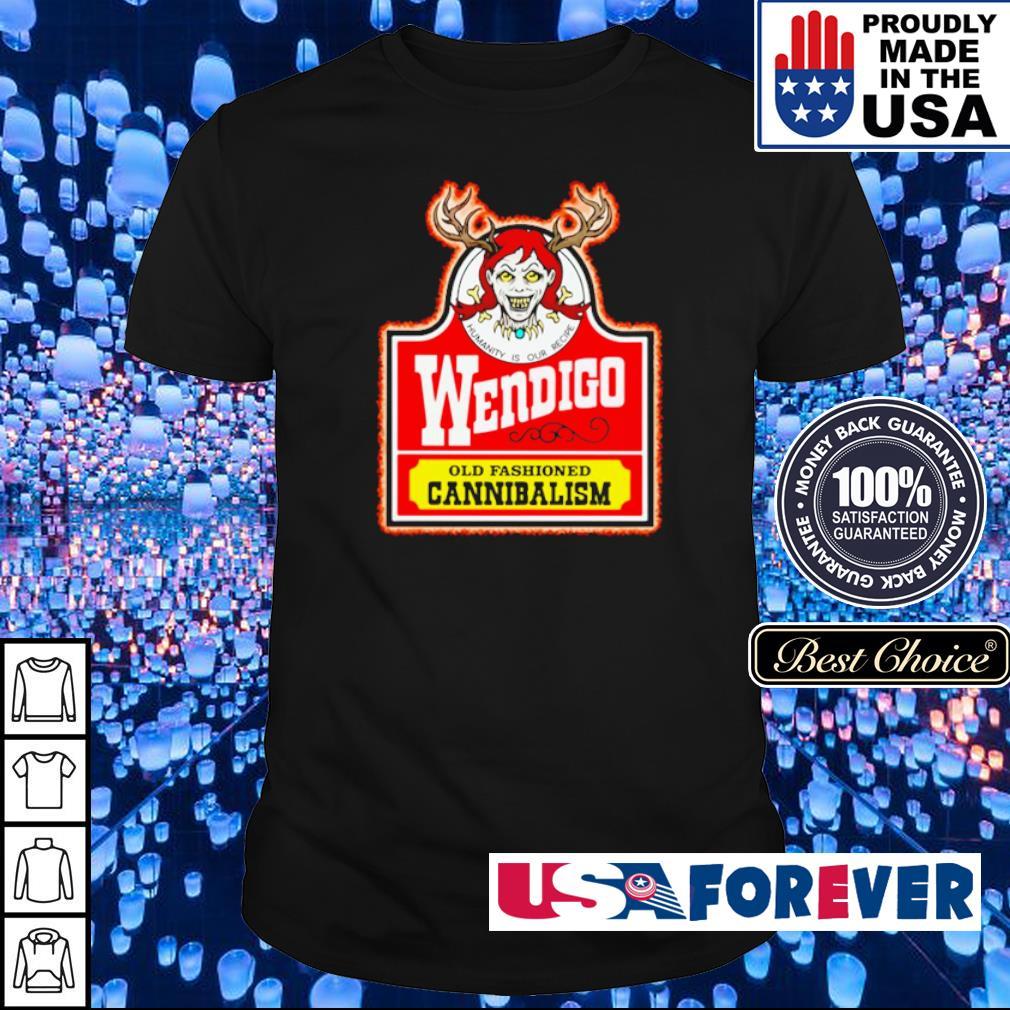 Wendigo old fashioned cannibalism shirt