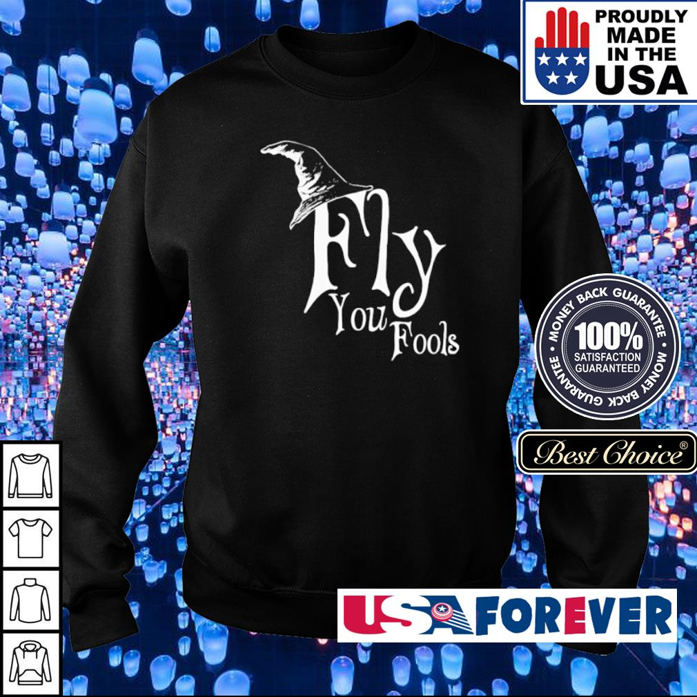 Witch fly you fools s sweater