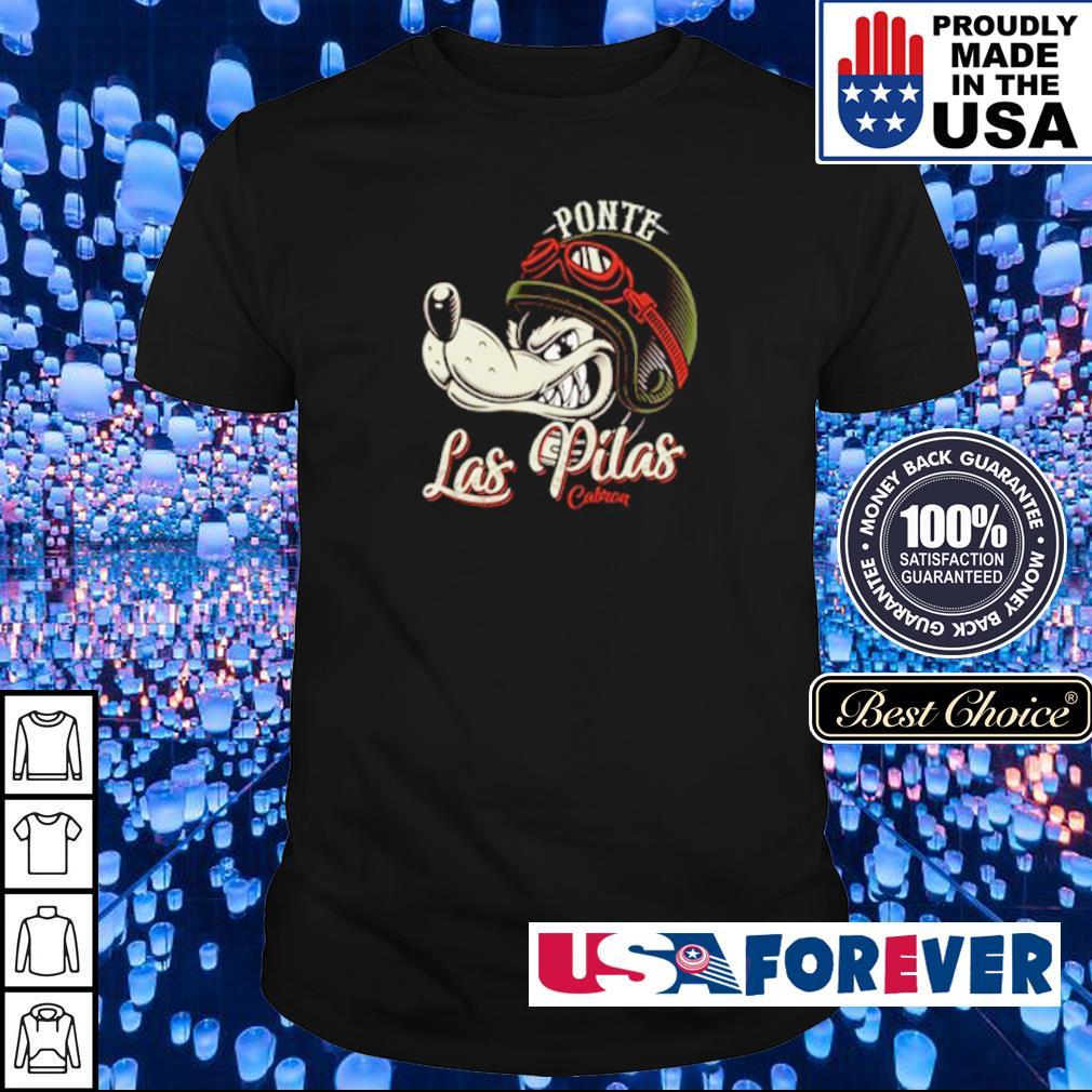 Wolf Ponte Las Pilas Cabron shirt