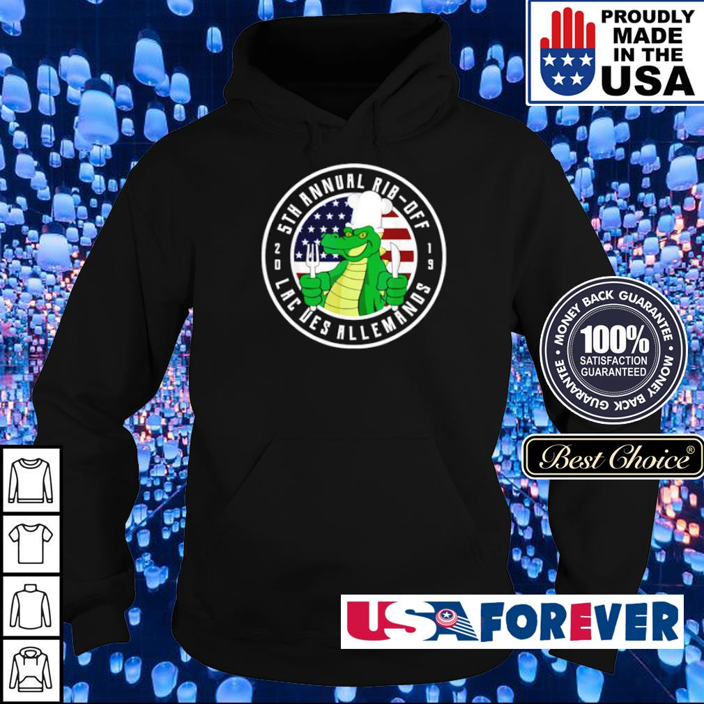 5th annual rib-off lacues allemands 2019 s hoodie