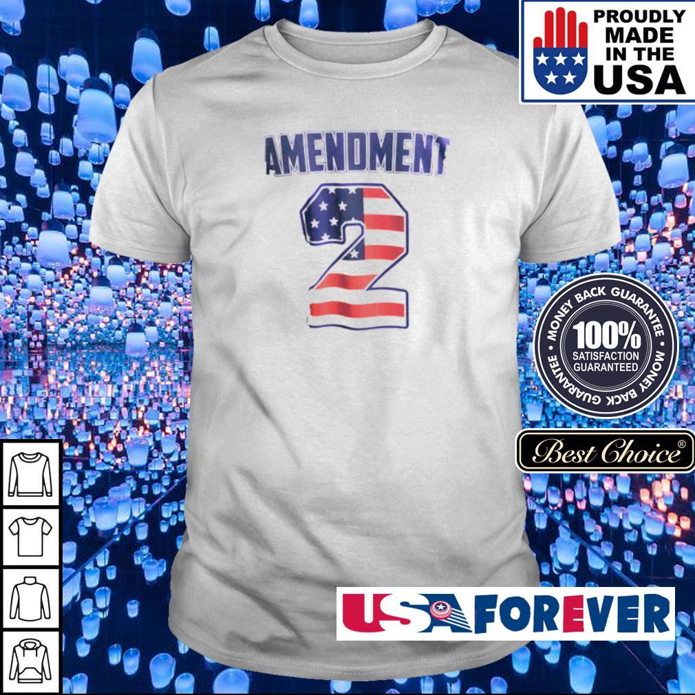 American Flag Amendment 2 shirt