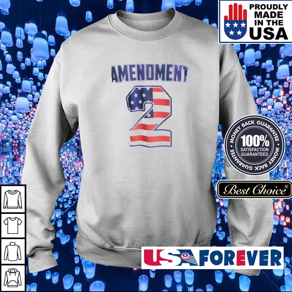 American Flag Amendment 2 s sweater