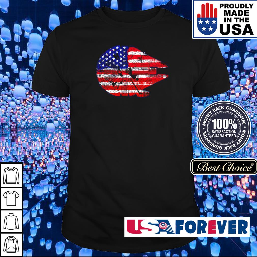 American Flag Death Star shirt