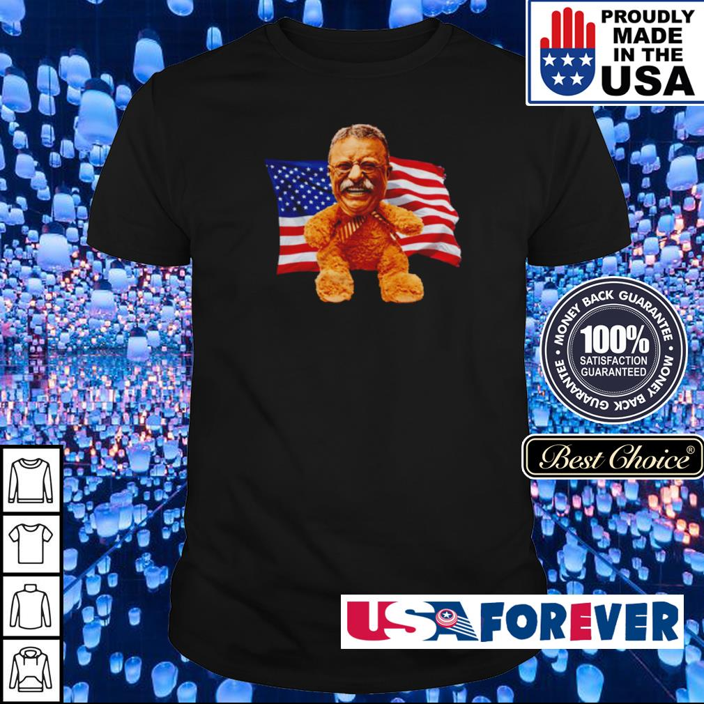 American Flag Teddy shirt
