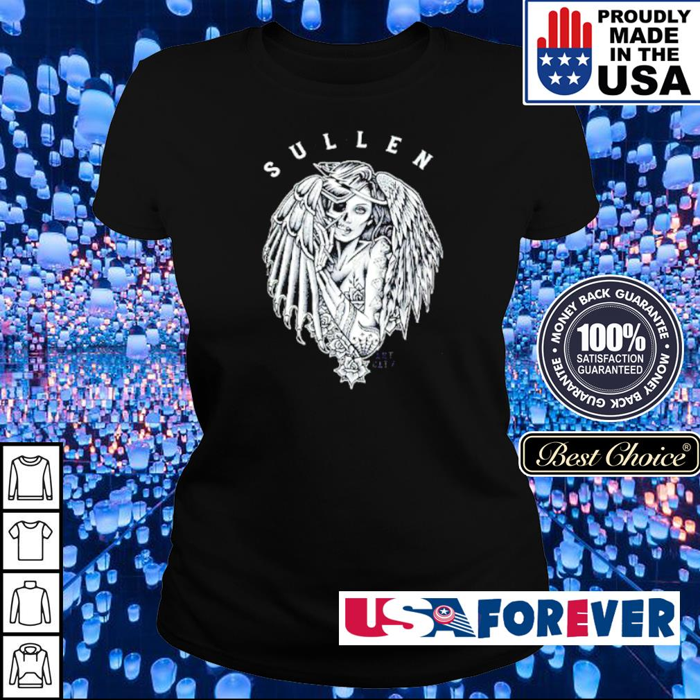 Angel Falling Sullen Art CLTV sinners and saints s ladies