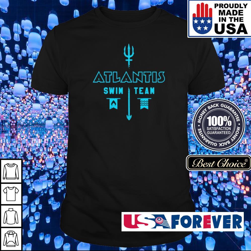 Aquaman Atlantis swim team shirt