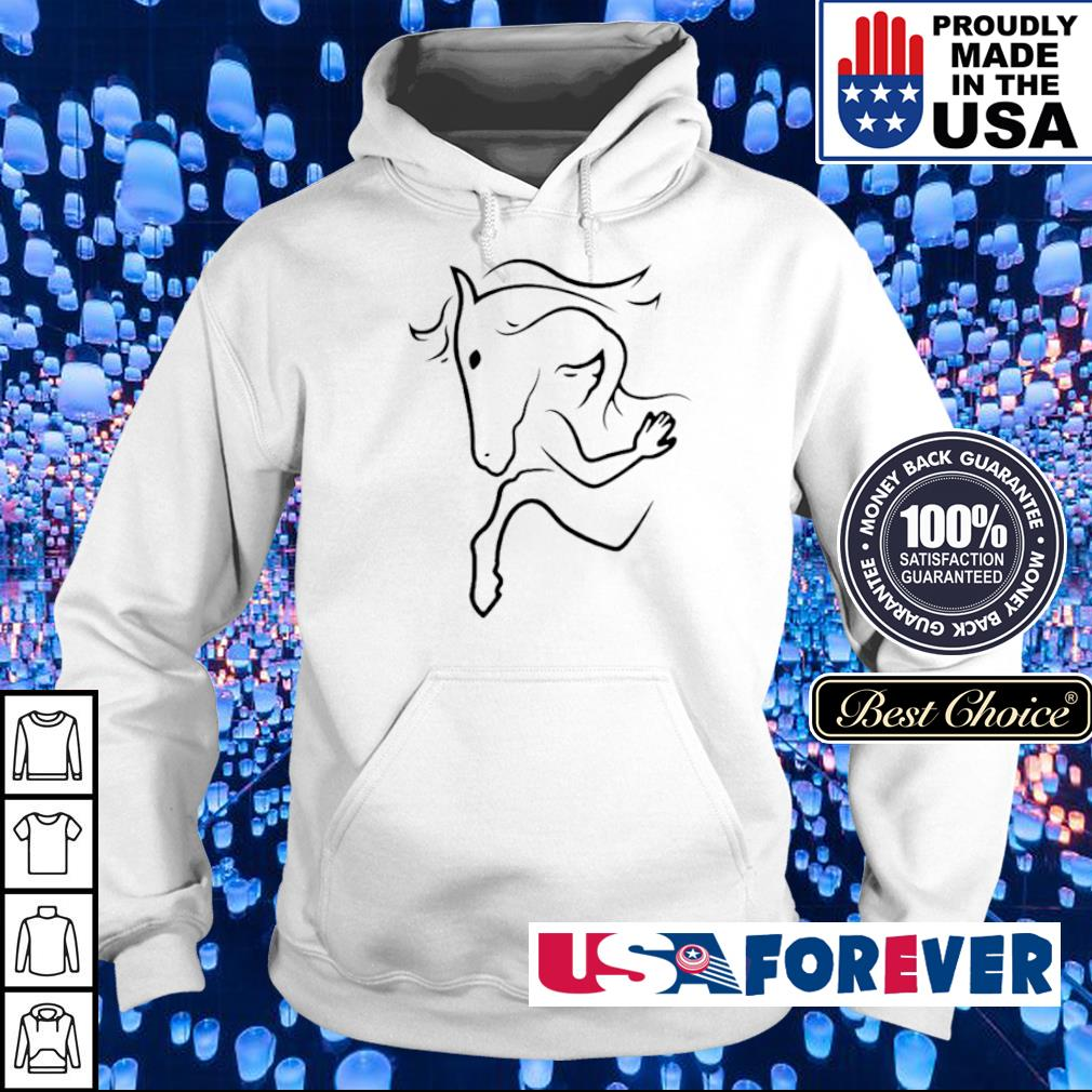 Art Girl and her horse s hoodie