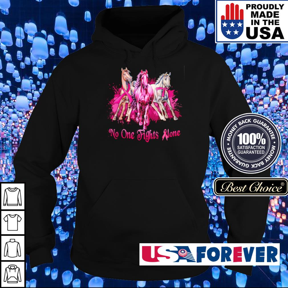 Autism Awareness no one fights alone s hoodie