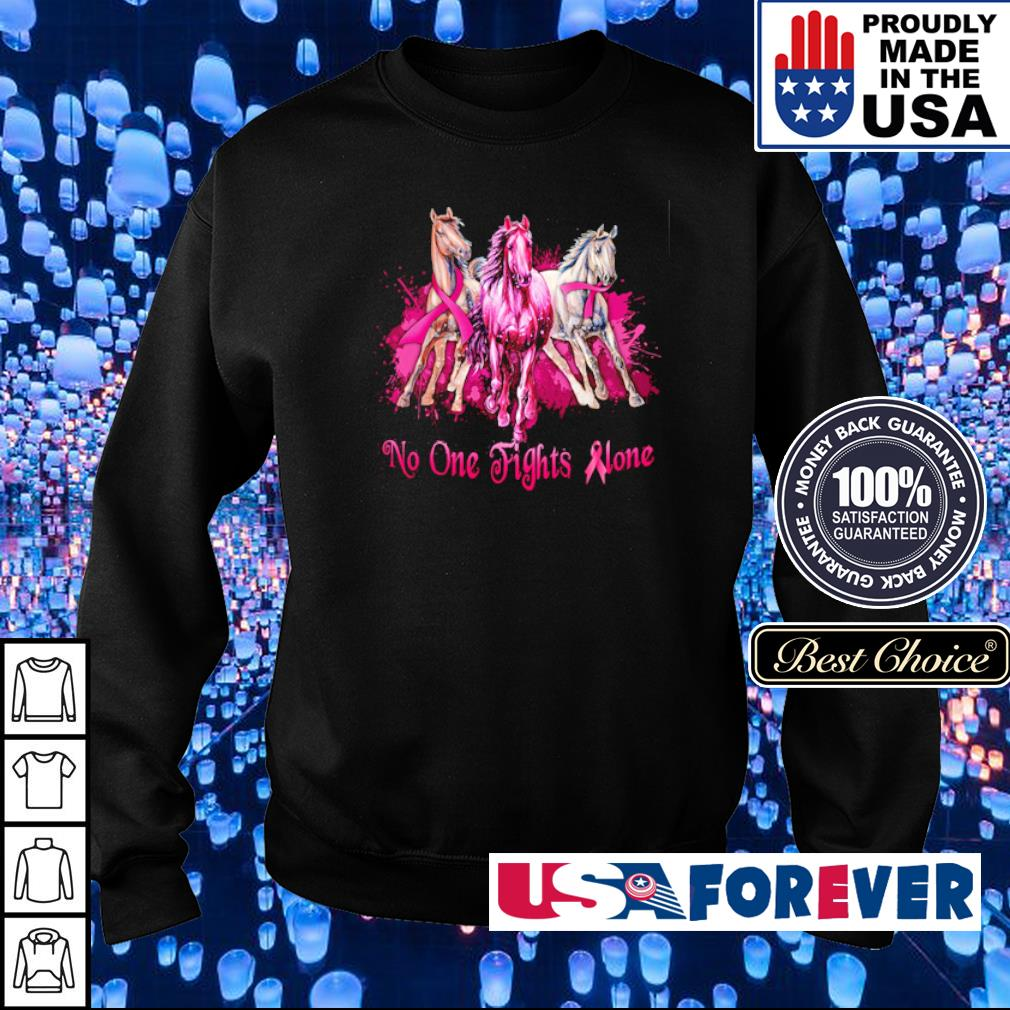 Autism Awareness no one fights alone s sweater