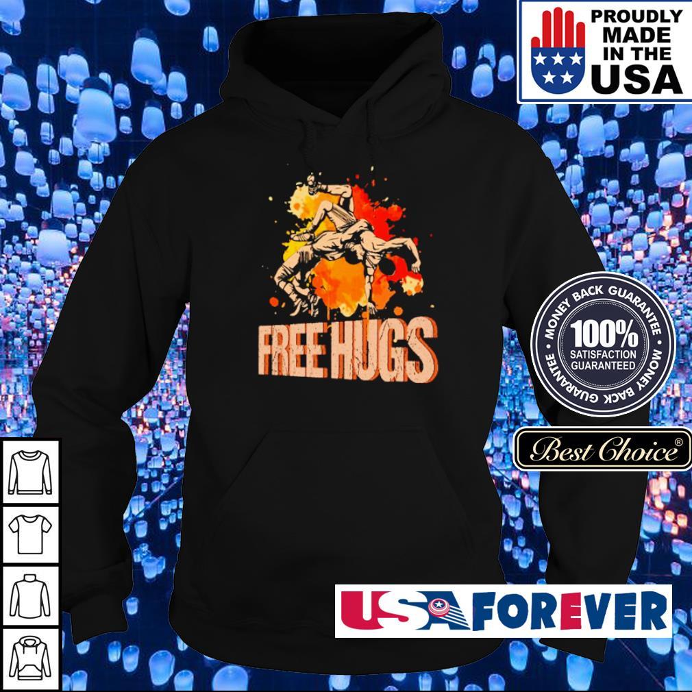 Awesine Judo Free Hugs s hoodie