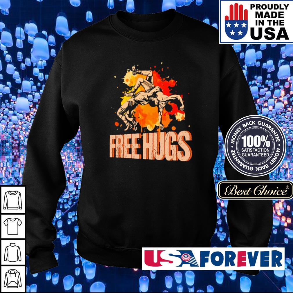 Awesine Judo Free Hugs s sweater