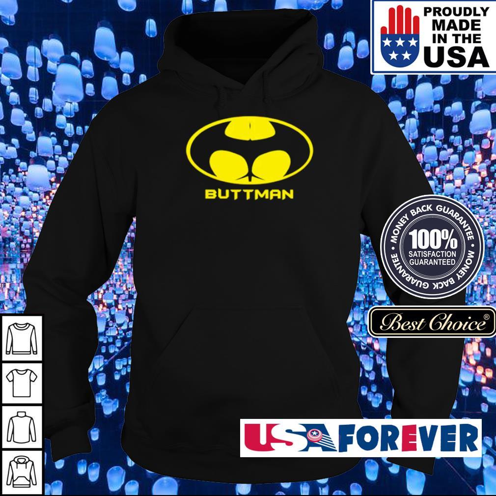 Awesome Batman logo Buttman s hoodie