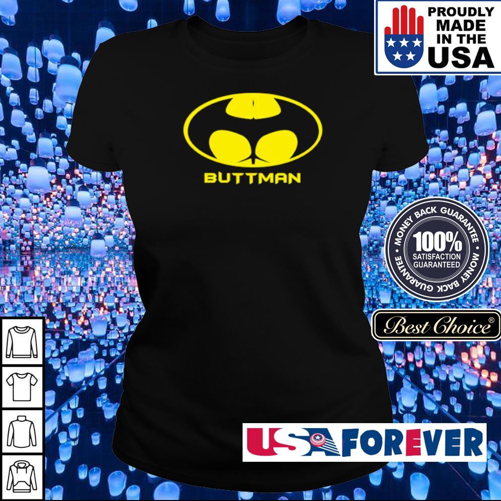 Awesome Batman logo Buttman s ladies