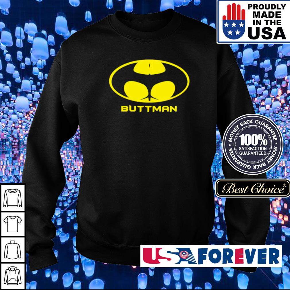 Awesome Batman logo Buttman s sweater