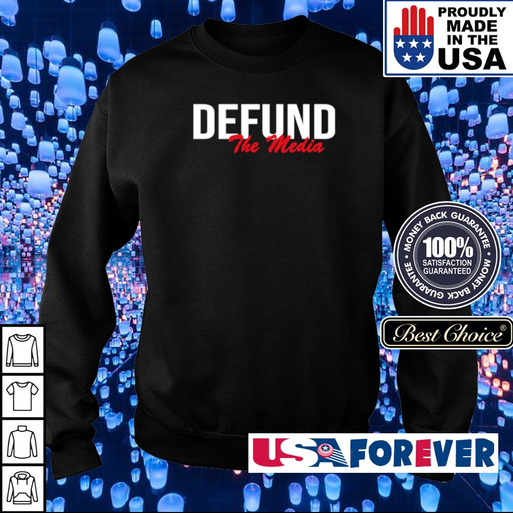 Awesome Defund The Media s sweater