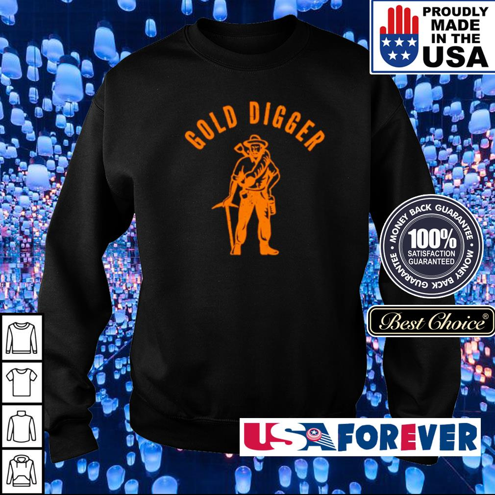 Awesome Gold Digger s sweater