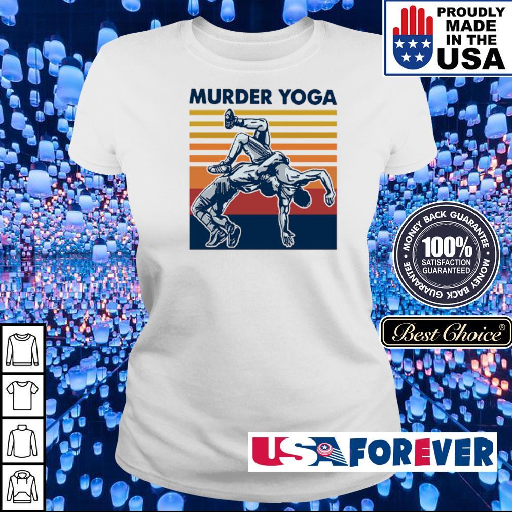 Awesome Murder Yoga vintage s ladies
