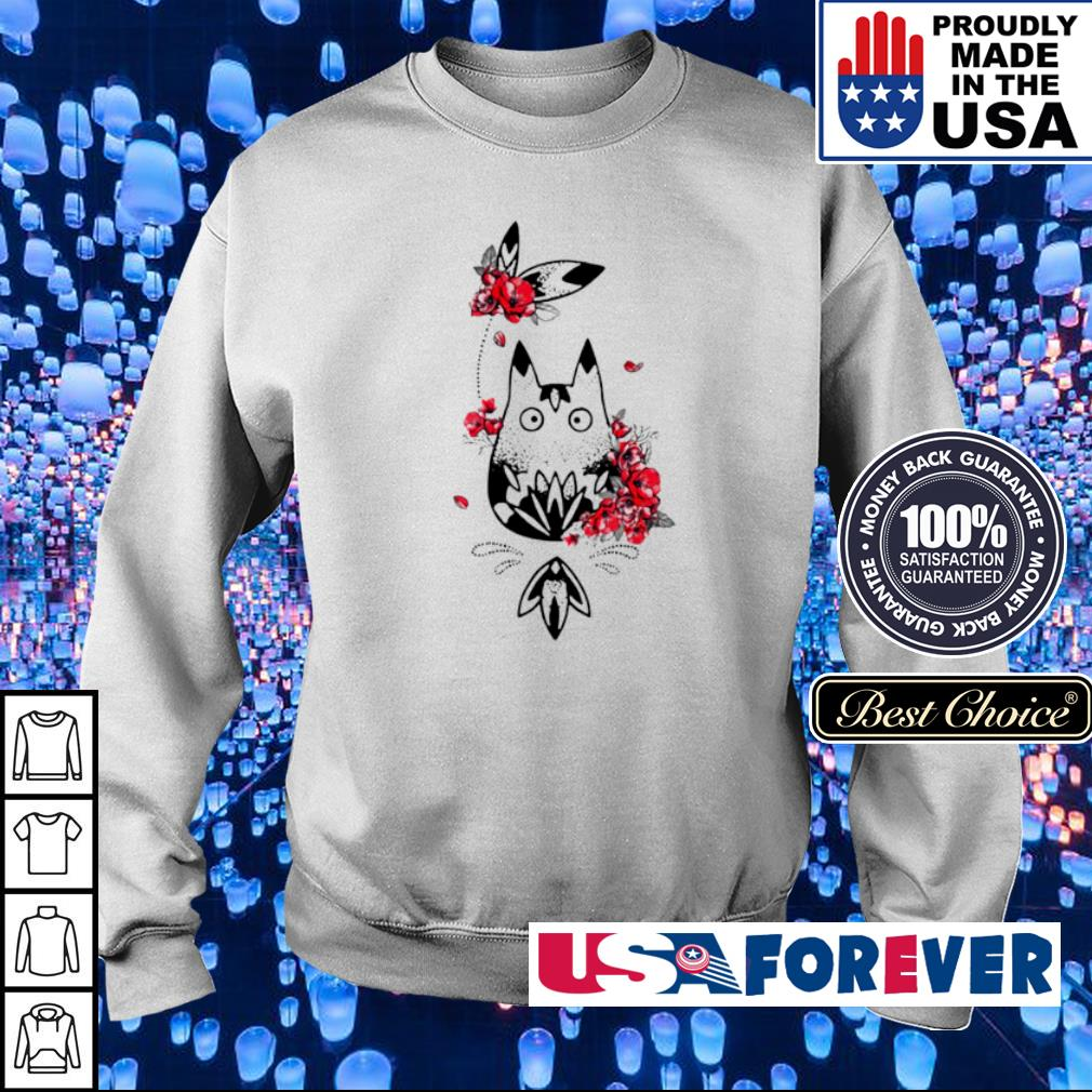 Awesome Totoro I am a flower s sweater