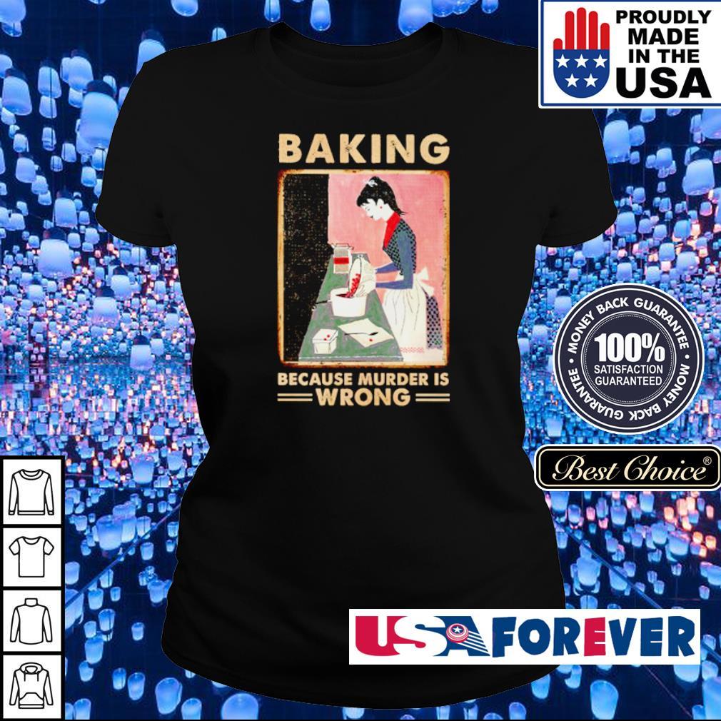 Baking because murder is wrong s ladies