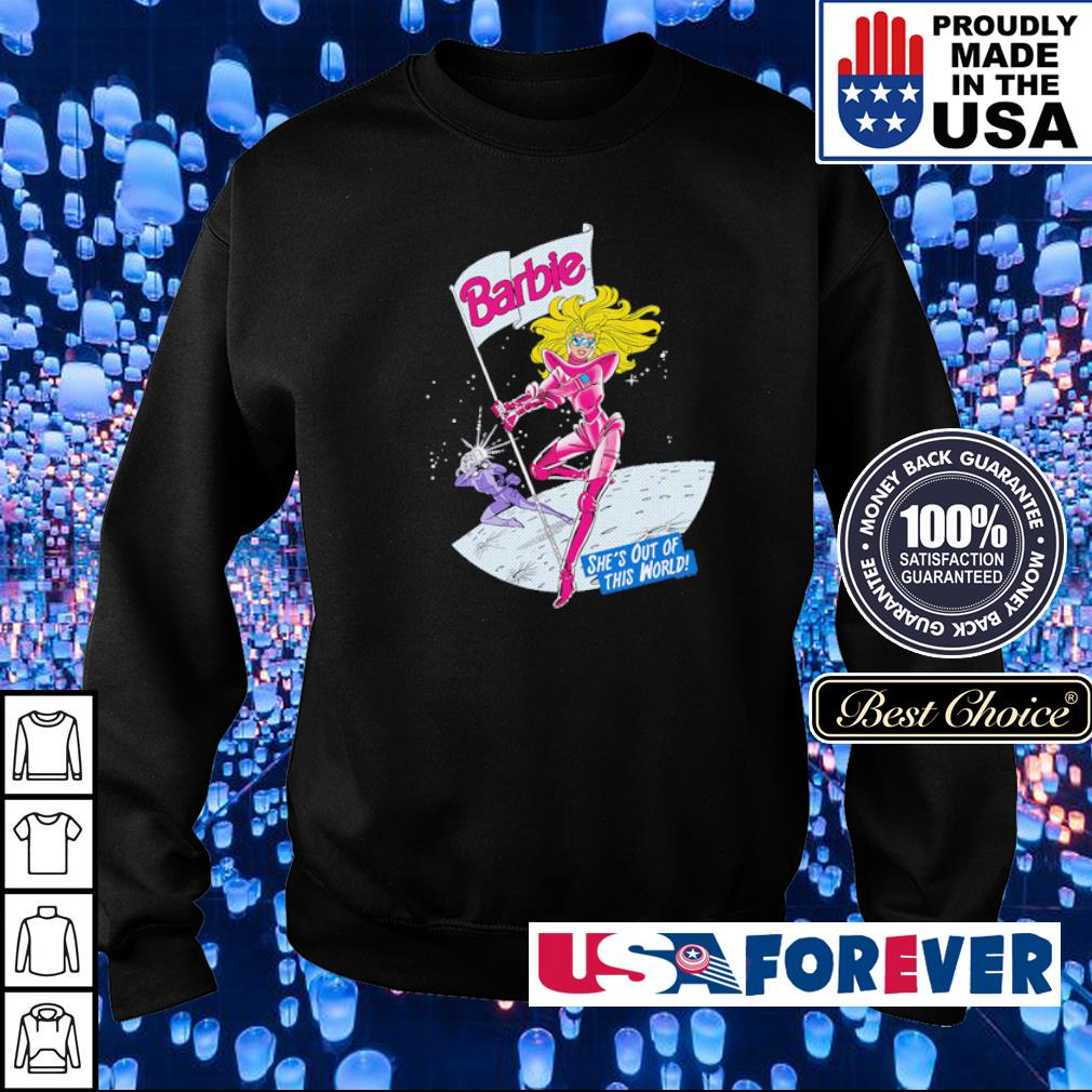 Barbie she's out of this world s sweater